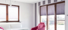 Pleated blinds EASYFIX